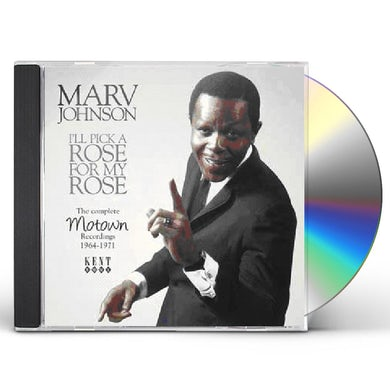 Marv Johnson ILL PICK A ROSE FOR MY ROSE: MOTOWN REC 64 - 71 CD