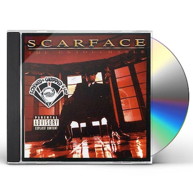 Scarface UNTOUCHABLE: SCREWED CD