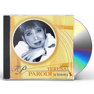 Teresa Parodi HISTORIA CD