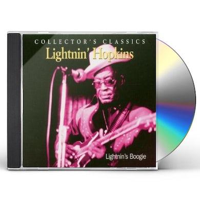 Lightnin Hopkins LIGHTNIN'S BOOGIE CD