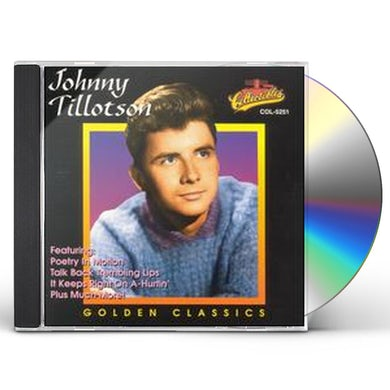 Johnny Tillotson GOLDEN CLASSICS CD