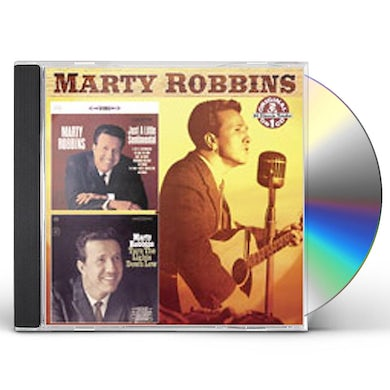 Marty Robbins JUST A LITTLE SENTIMENTAL / TURN LIGHTS DOWN LOW CD