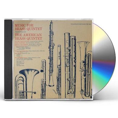 MUSIC FOR BRASS QUINTET CD