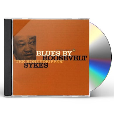 "BLUES BY ROOSEVELT ""THE HONEYDRIPPER"" SYKES CD"