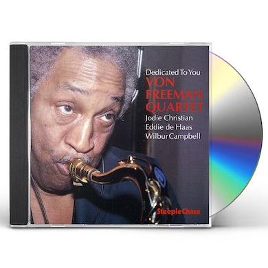 Von Freeman DEDICATED TO YOU CD