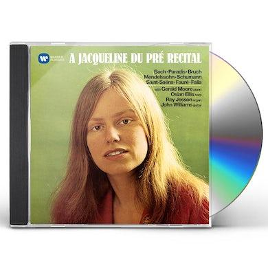 Jacqueline Du Pre JACQUELINE DU PRR RECITAL CD