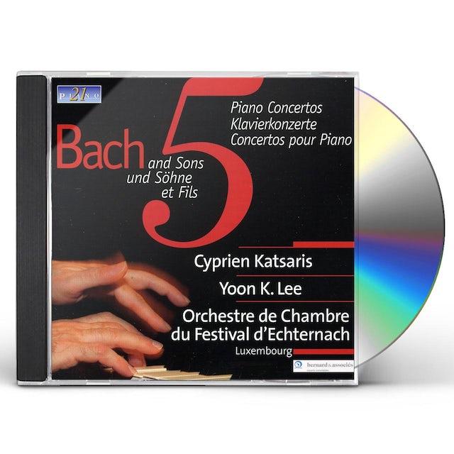 J.S. Bach CONCERTO PIANO CD