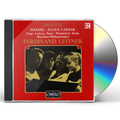 Handel GIULIO CESARE-COMP OPERA CD