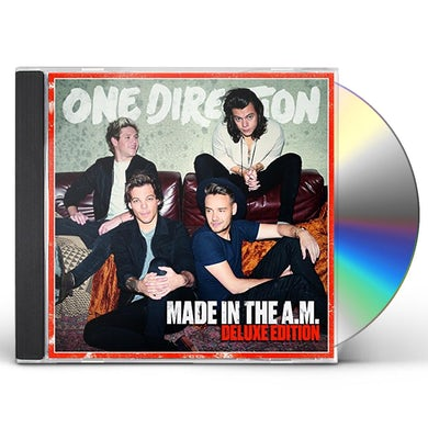 One Direction MADE IN THE A.M. (JAPANESE DELUXE EDITION) CD