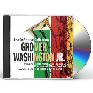 Grover Washington Jr DEFINITIVE COLLECTION: DELUXE EDITION CD