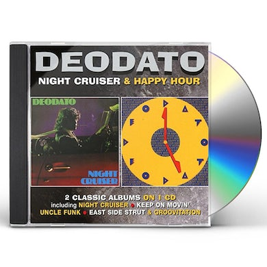 Deodato NIGHT CRUISER / HAPPY HOUR CD
