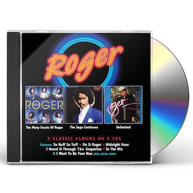 MANY FACETS OF ROGER / SAGA CONTINUES / UNLIMITED CD
