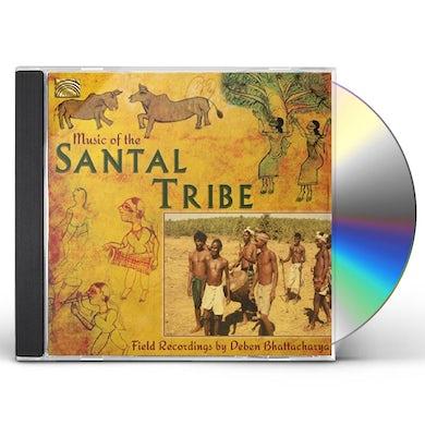 Deben Bhattacharya MUSIC OF THE SANTAL TRIBE CD