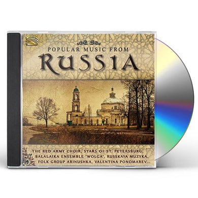 Red Army Choir POPULAR MUSIC FROM RUSSIA CD