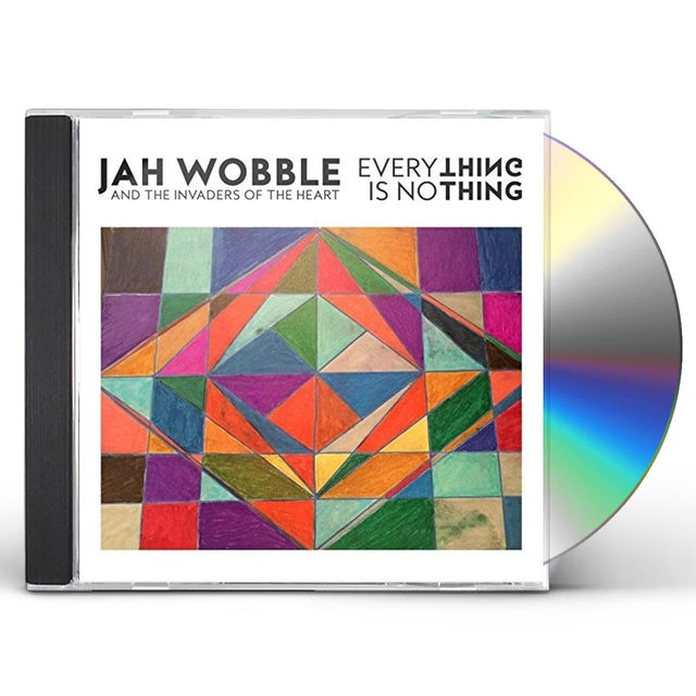 Jah Wobble EVERYTHING IS NOTHING CD