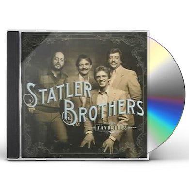 Statler Brothers FAVORITES CD