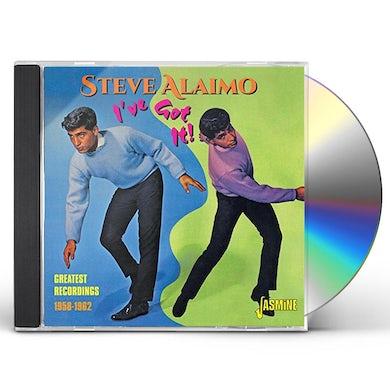 Steve Alaimo I'VE GOT IT! GREATEST RECORDINGS 1958-1962 CD