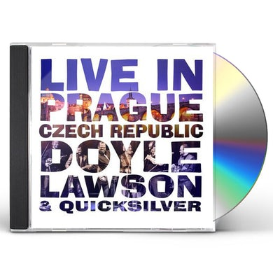 Doyle Lawson & Quicksilver Live In Prague, Czech Republic CD