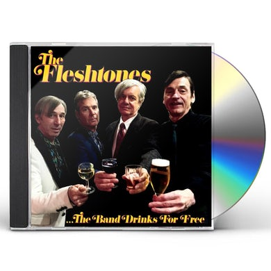 Fleshtones BAND DRINKS FOR FREE CD
