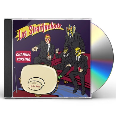 Los Straitjackets Channel Surfing CD