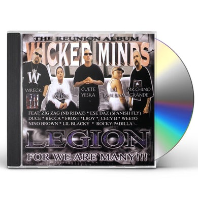 Wicked Minds LEGION CD