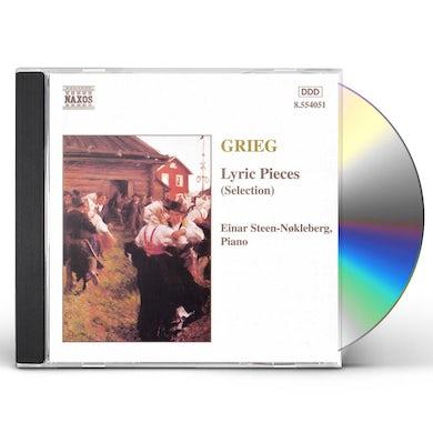 Grieg LYRIC PIECES (SELECTION) CD