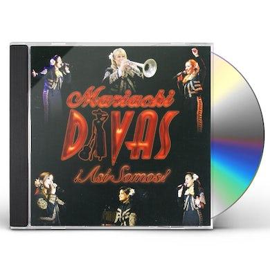 Mariachi Divas ASI SOMOS CD