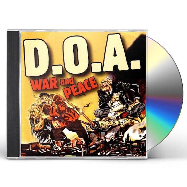 Doa WAR & PEACE 25 ANNIVERSARY ANTHOLOGY CD