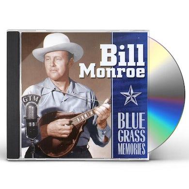 Bill Monroe 25 BLUE GRASS MEMORIES CD