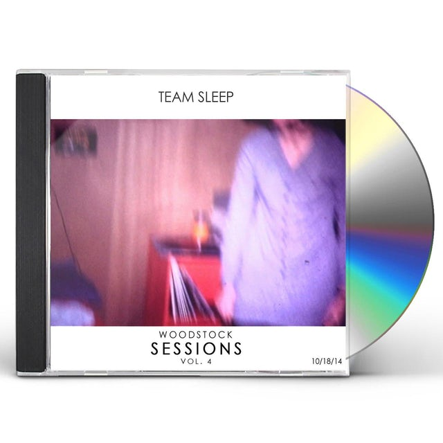 Team Sleep WOODSTOCK SESSIONS VOL. 4 CD