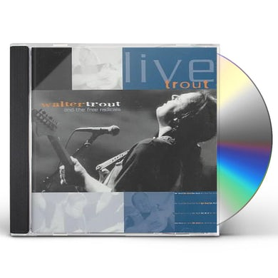 Walter Trout LIVE TROUT: AT TAMPA BAY BLUES FEST MARCH 2000 CD