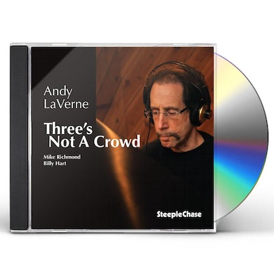 Andy LaVerne THREE'S NOT A CROWD CD
