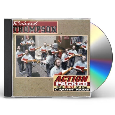 Richard Thompson ACTION PACKED: BEST OF THE CAPITOL YEARS CD