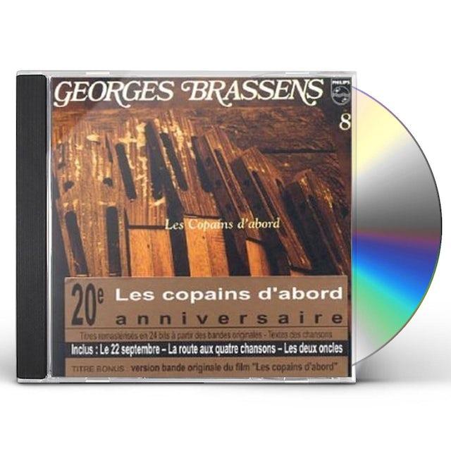Georges Brassens LES COPAINS D ABO 8 CD
