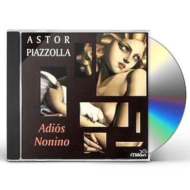 Astor Piazzolla ADIOS NONIMO / PRELUDE LA ORACION DEL TORERO CD