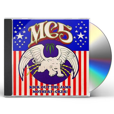 MC5 KICK OUT THE JAMS MOTHERFUCKER CD