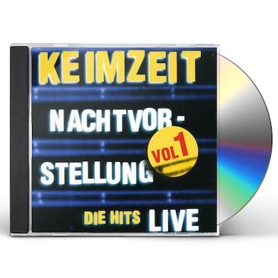 Keimzeit NACHTVORSTELLUNG DIE HITS LIVE VOL. 1 CD