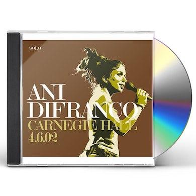 Ani Difranco CARNEGIE HALL CD
