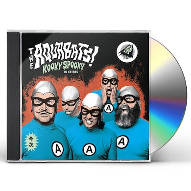 Aquabats KOOKY SPOOKY IN STEREO CD