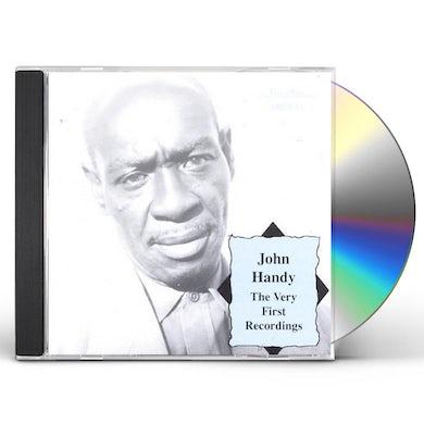 John Handy VERY FIRST RECORDINGS CD
