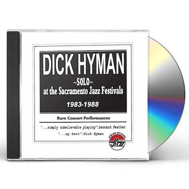 Dick Hyman SOLO AT THE SACRAMENTO JAZZ FESTIVALS 1983-1988 CD