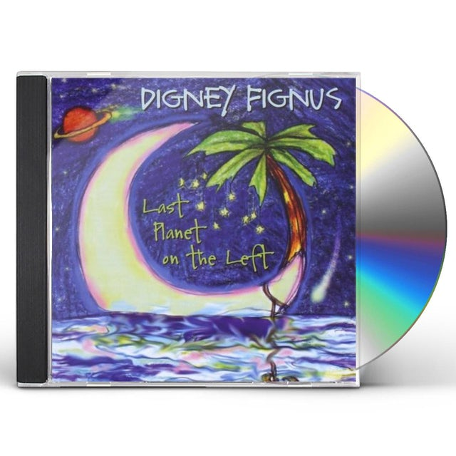 Digney Fignus LAST PLANET ON THE LEFT CD
