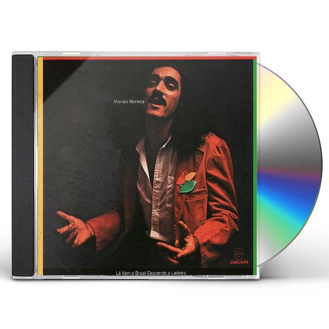 Moraes Moreira LA VEM O BRASIL DESCENDO A LADEIRA CD