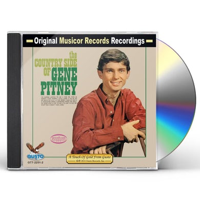 COUNTRY SIDE OF GENE PITNEY CD