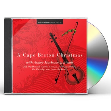 Ashley MacIsaac CAPE BRETON CHRISTMAS CD