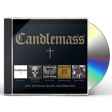 Candlemass NUCLEAR BLAST RECORDINGS CD