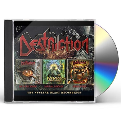 Destruction NUCLEAR BLAST RECORDINGS CD