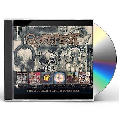 Gorefest NUCLEAR BLAST RECORDINGS CD