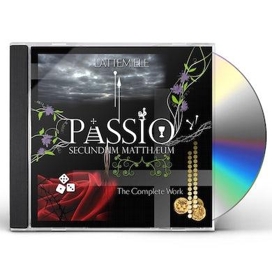 Latte E Miele PASSIO SECUNDUM MATTHEUM-THE C CD
