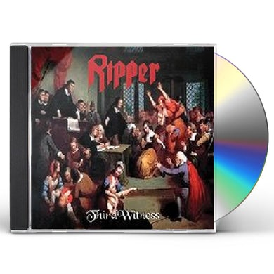 Ripper THIRD WITNESS CD